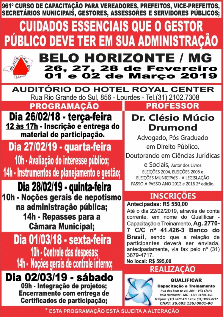 8561768898 Cursos 2019   961º - BELO HORIZONTE - MG - 26